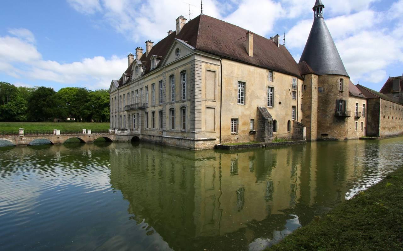 Visite de château week end romantique bourgogne