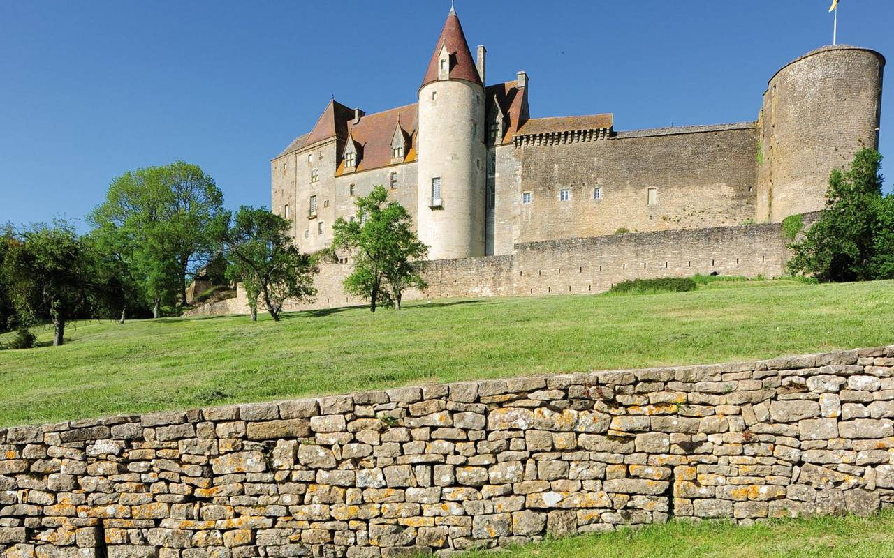 week end insolite bourgogne château