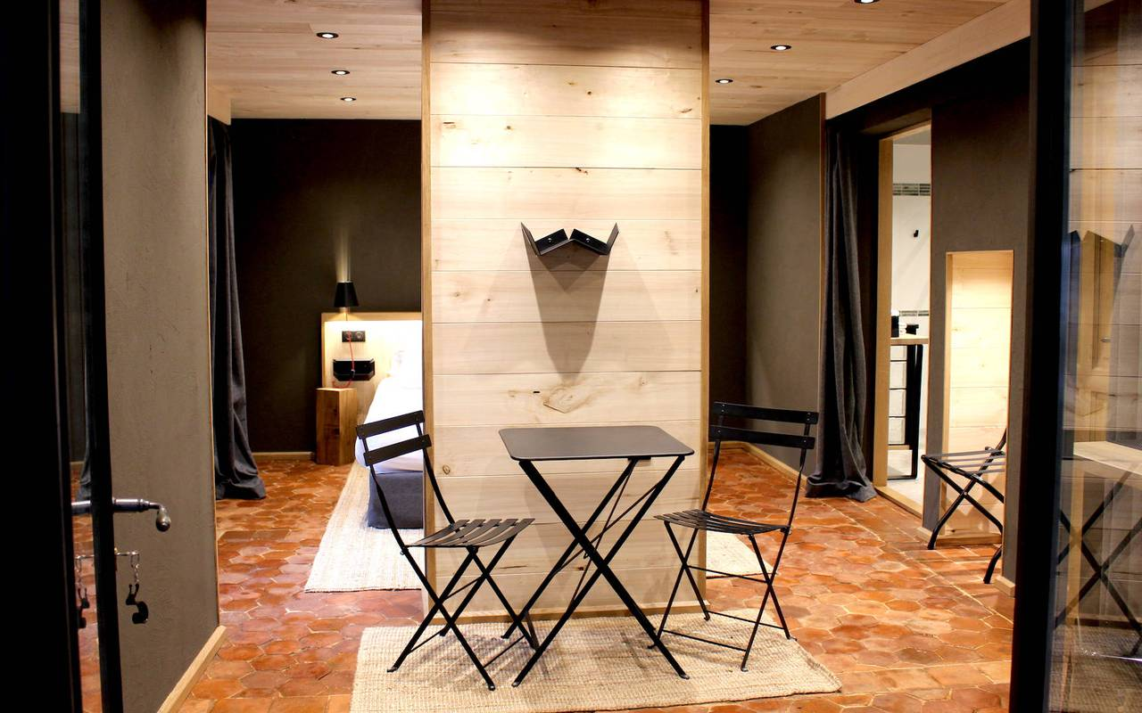 Chambre moderne hôtel de luxe dijon