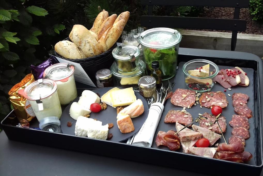 Plateau gourmand hotel de charme Bourgogne